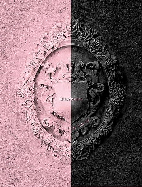 YG Blackpink - Kill This Love [Random ver ] (2nd Mini Album) CD+52p  Photobook+Lyrics Book+4Photocards+Polaroid Photocard+Sticker Set+On Pack