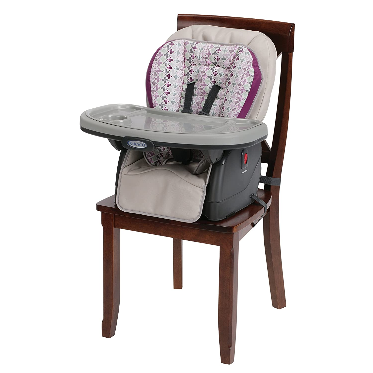 Amazon Graco Blossom 4 in 1 Convertible High Chair Seating