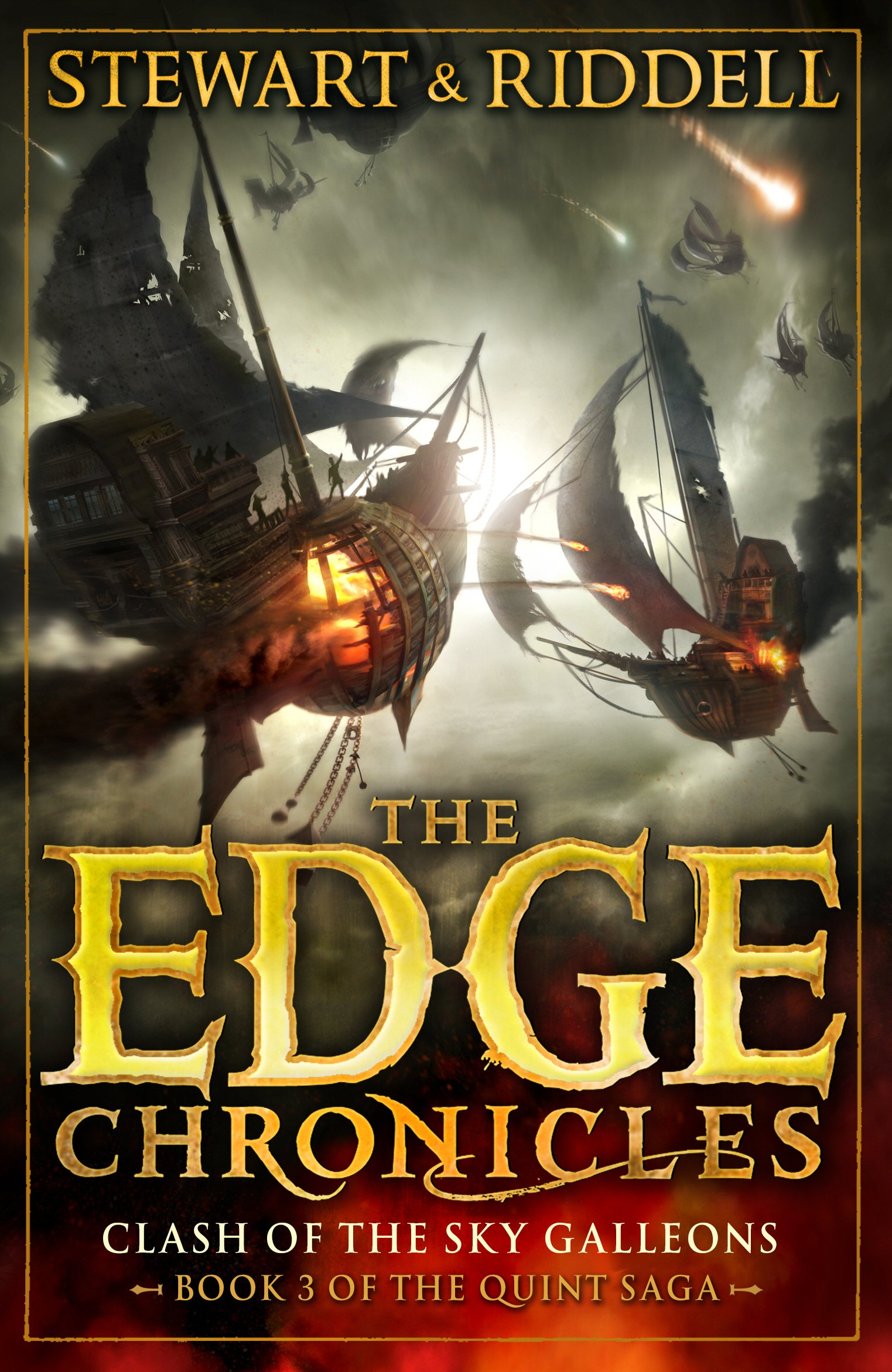 Download The Edge Chronicles 3: The Clash of the Sky Galleons: Quint Saga Book 3 pdf epub