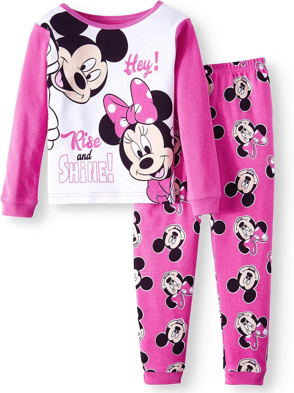Disney Minnie Mouse Little Girls Plush Pajama Pants