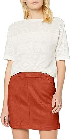 Vero Moda Vmdonnadina Faux Suede Short Skirt Noos Falda para Mujer