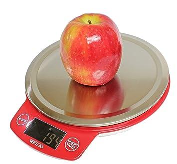 Wego balanza de cocina digital, balanzas digitales, escala con múltiples funciones, alta precisión