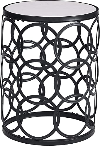 FirsTime Co. Black Interlocking Circles Marblized Table Review