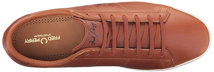 Fred Perry Spencer Leather Tan B9070448, Basket  Amazon.fr  Chaussures et  Sacs be63e8bd6249