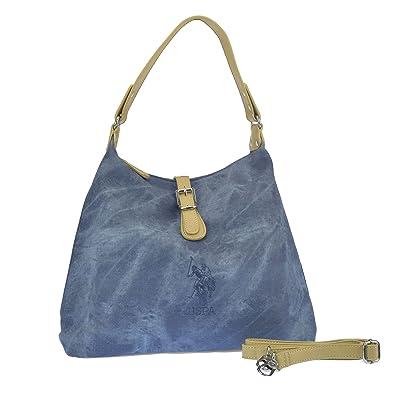 aeee35dac2 U.S.POLO ASSN. Handtasche mit Schulterriemen 36-28x13x29 cm  Amazon ...
