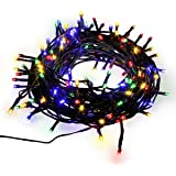 SUPERNIGHT DC 24V 200 LED Decorative Christmas Lights 8 Modes 72ft(22m) LED Novelty Fairy String Lights Ambiance Lighting for Home Weddings Party Garden Decoration, Multicolor