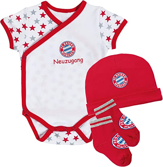 FC Bayern M/ünchen Baby Body Neuzugang