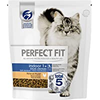 Perfect Fit Indoor - gesteriliseerd kattenvoer voor volwassenen, rijk aan kippen, 1 zak met 1,4 kg