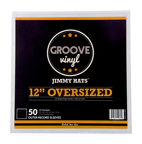 12 Inch Oversized Premium Outer Record Sleeves For