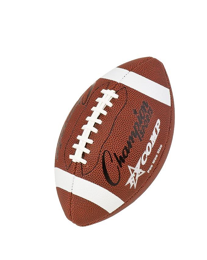 CHAMPION SPORTS Pee Wee Comp - Balón de fútbol (marrón): Amazon.es ...