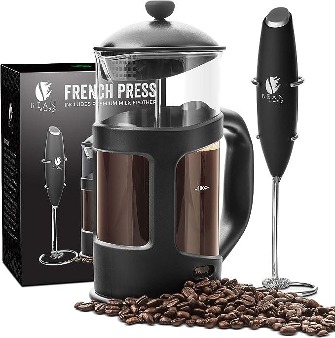 Winnfy Cafetera para caf/é con filtro de mano
