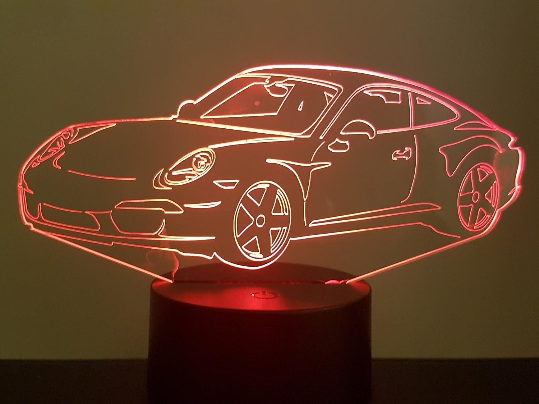 PORSCHE 911-991 Coupé, 3D-LAMPE LED