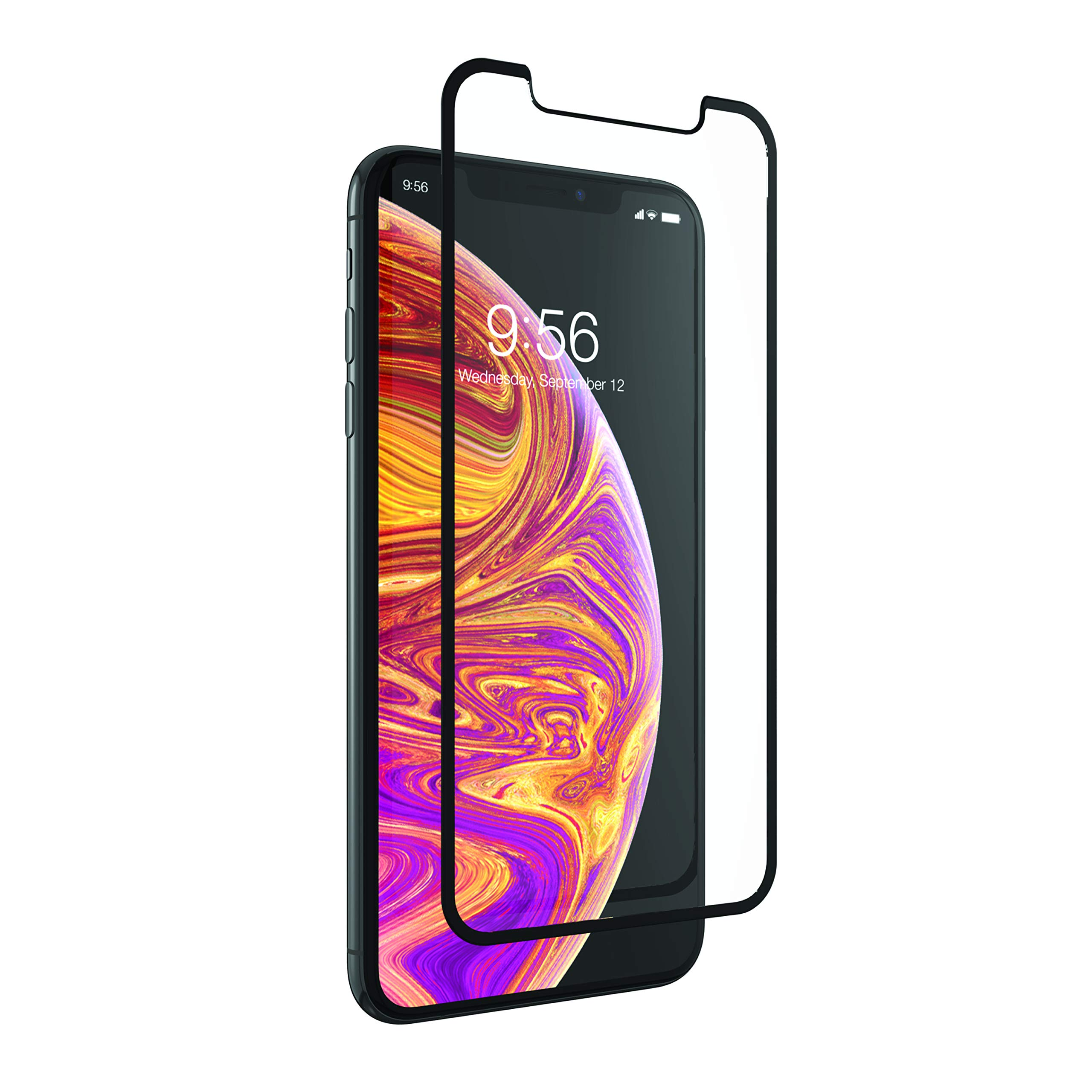 ZAGG InvisibleShield Glass+ Luxe Tempered Screen Protector for iPhone Xs Max - Clear by ZAGG