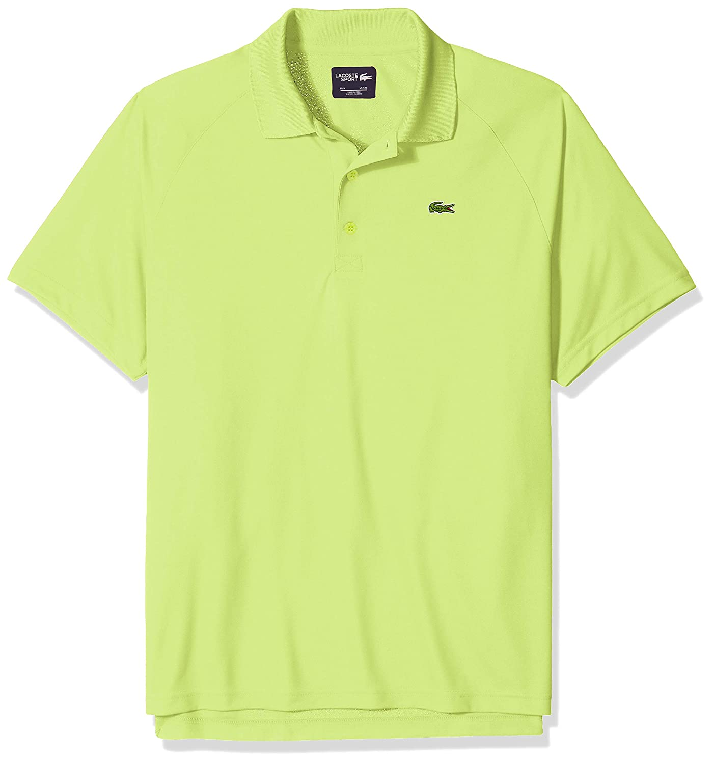 Lacoste Hombres DH9631-51 Manga Corta Camisa Polo - Verde - Large ...
