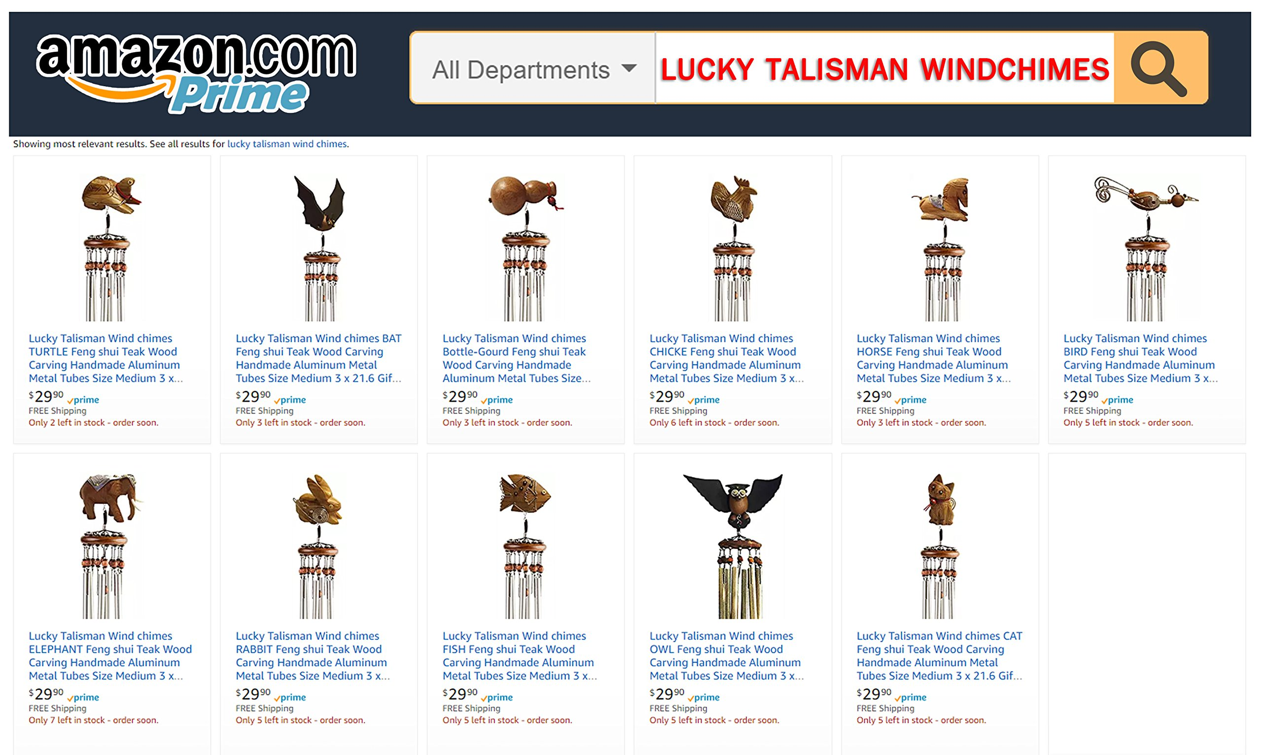 Lucky Talisman Wind Chimes Bottle-Gourd Feng Shui Teak Wood Carving Handmade Aluminum Metal Tubes Size Medium 3 x 21.6 Gift and Souvenir of Thailand for Terrace, Patio, Garden, Outdoor Home Decor. by Lucky Windchimes (Image #7)