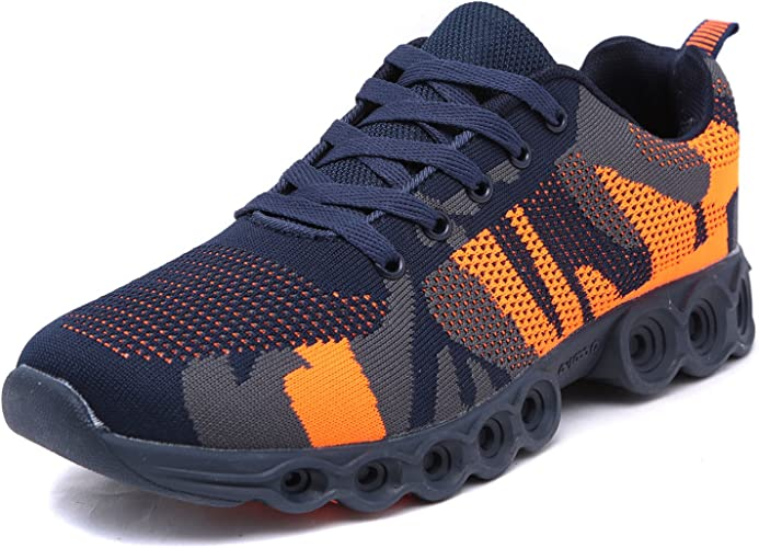 Scarpe da ginnastica uomo donna running sportive fitness militare mimetico A59