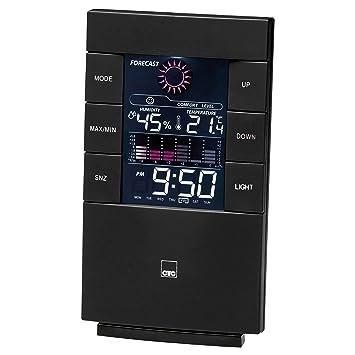 Luftfeuchtigkeit Wetterstation mit Innemperartur Uhr und Wecker CTC WSU 7023