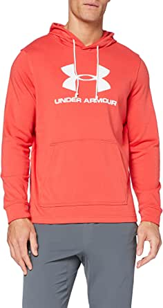 Under Armour Sportstyle Terry Logo hoodie voor heren.