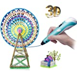 3D Printing Pen, 3D Doodler Drawing Printing Pen with Multi-Color Filament,Modern Arts and Crafts Tool Gadgets Gifts and Toys for Kids Boys and Girls,Unleash Creativity,Develop Spatial Thinking