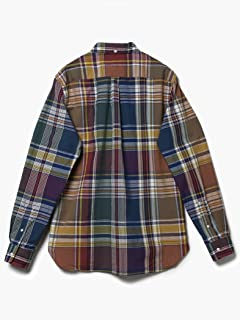 Big Check Buttondown Shirt 11-11-4003-139: Dark