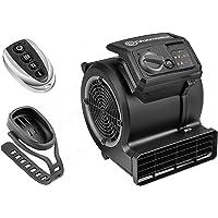 Vacmaster Cardio 54 Gym Vloerventilator met afstandsbediening Fiets Ventilator Stil, 3 snelheden Tapijtdroger Ventilator…