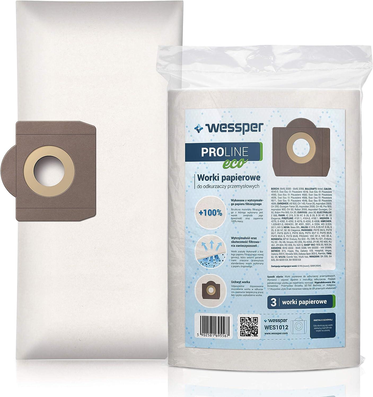 10x Sac-filtre tissus pour aspirateur Karcher SE 4001; SE 4002