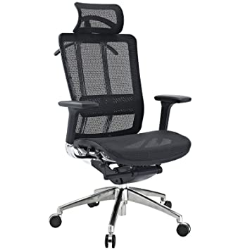Amazoncom Modway Future Office Chair with Headrest with Black