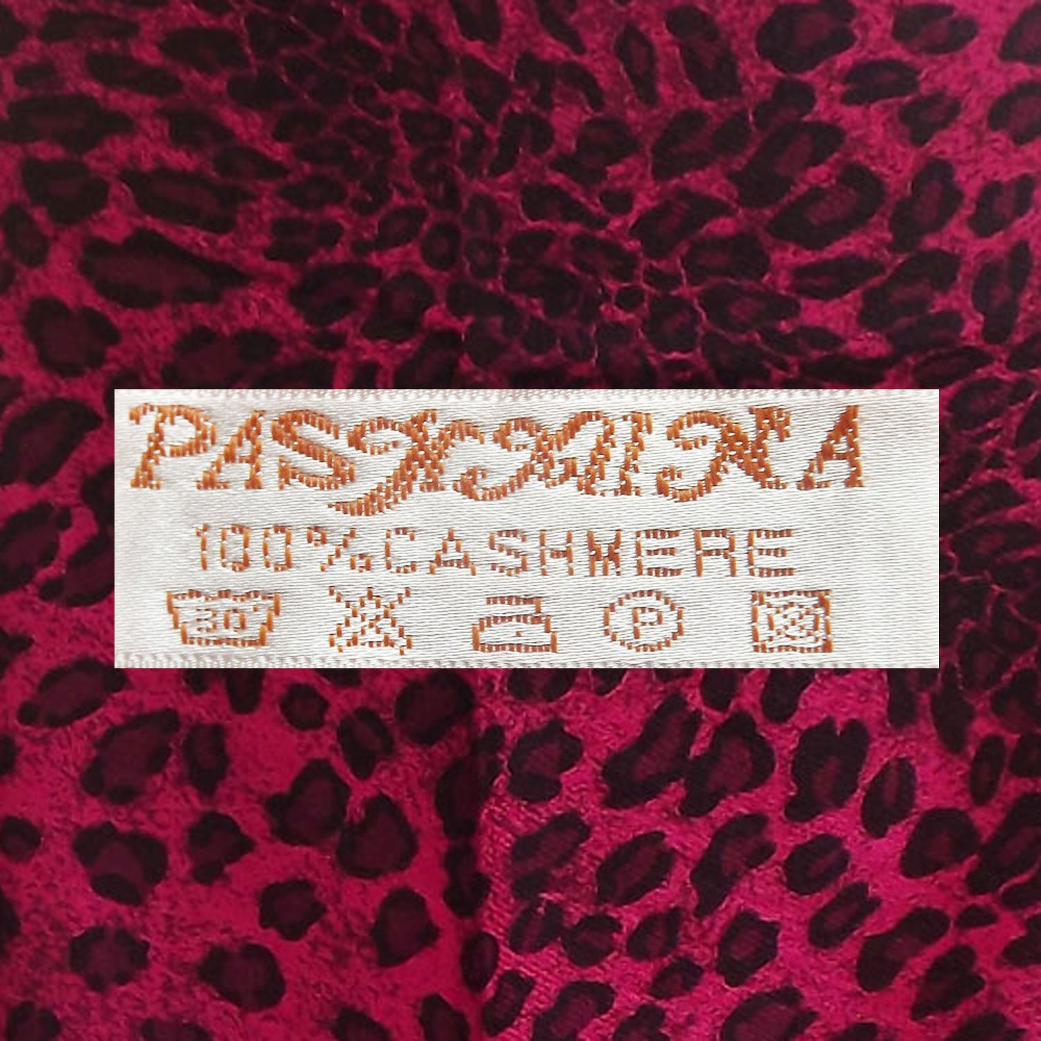 100% Cashmere Scarf from Thailand- Pashmina Design 1087