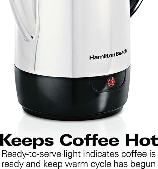 Amazon.com: Cafetera eléctrica, de Hamilton Beach, de ...