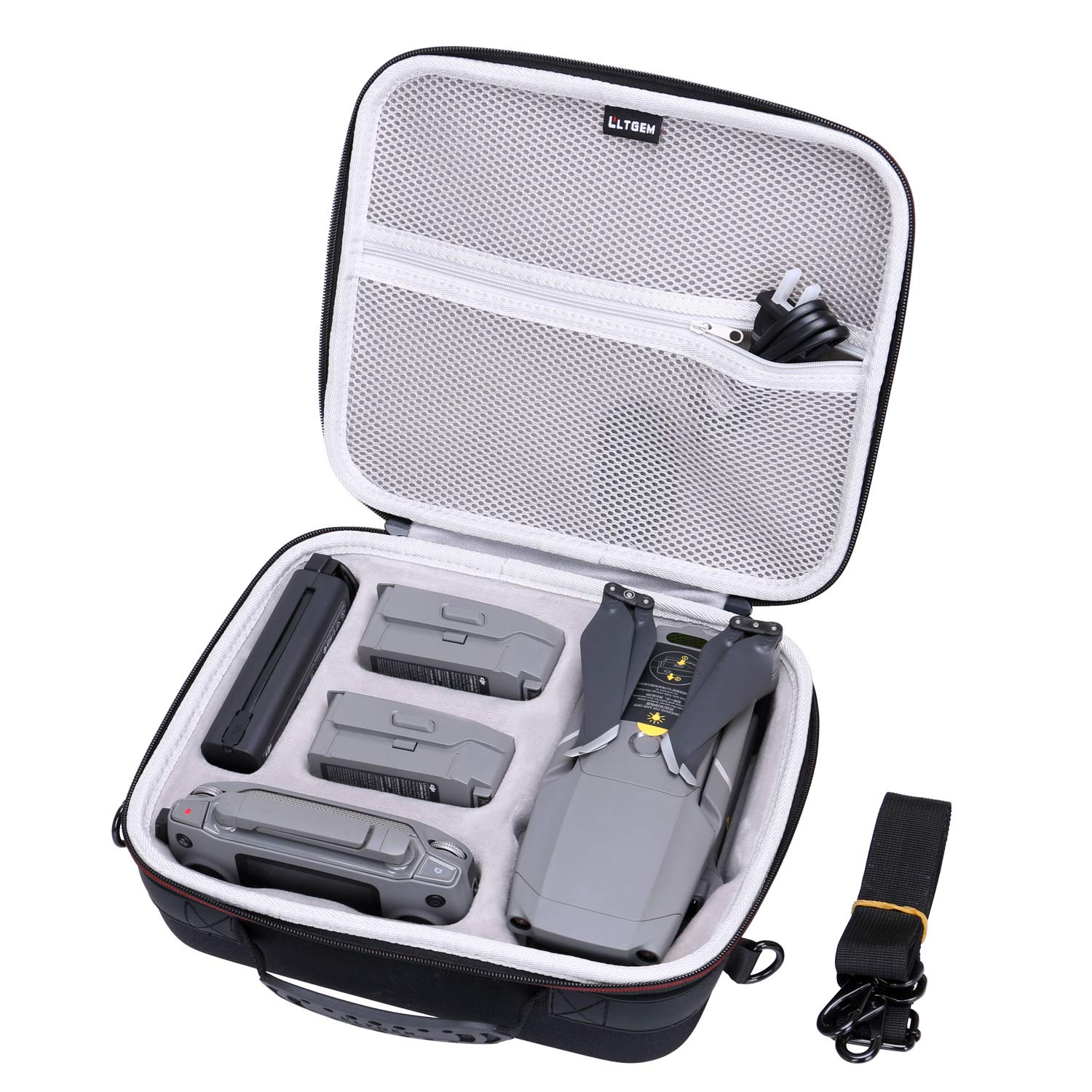 LTGEM EVA Hard Case for DJI Mavic 2 Pro Drone Quadcopter - Travel Protective Carrying Storage Bag