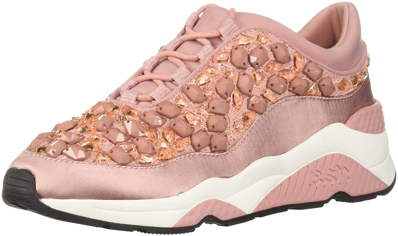 Ash Women's AS-Muse Stones Sneaker B0757G1MV5 37 M EU (7 US) Blush