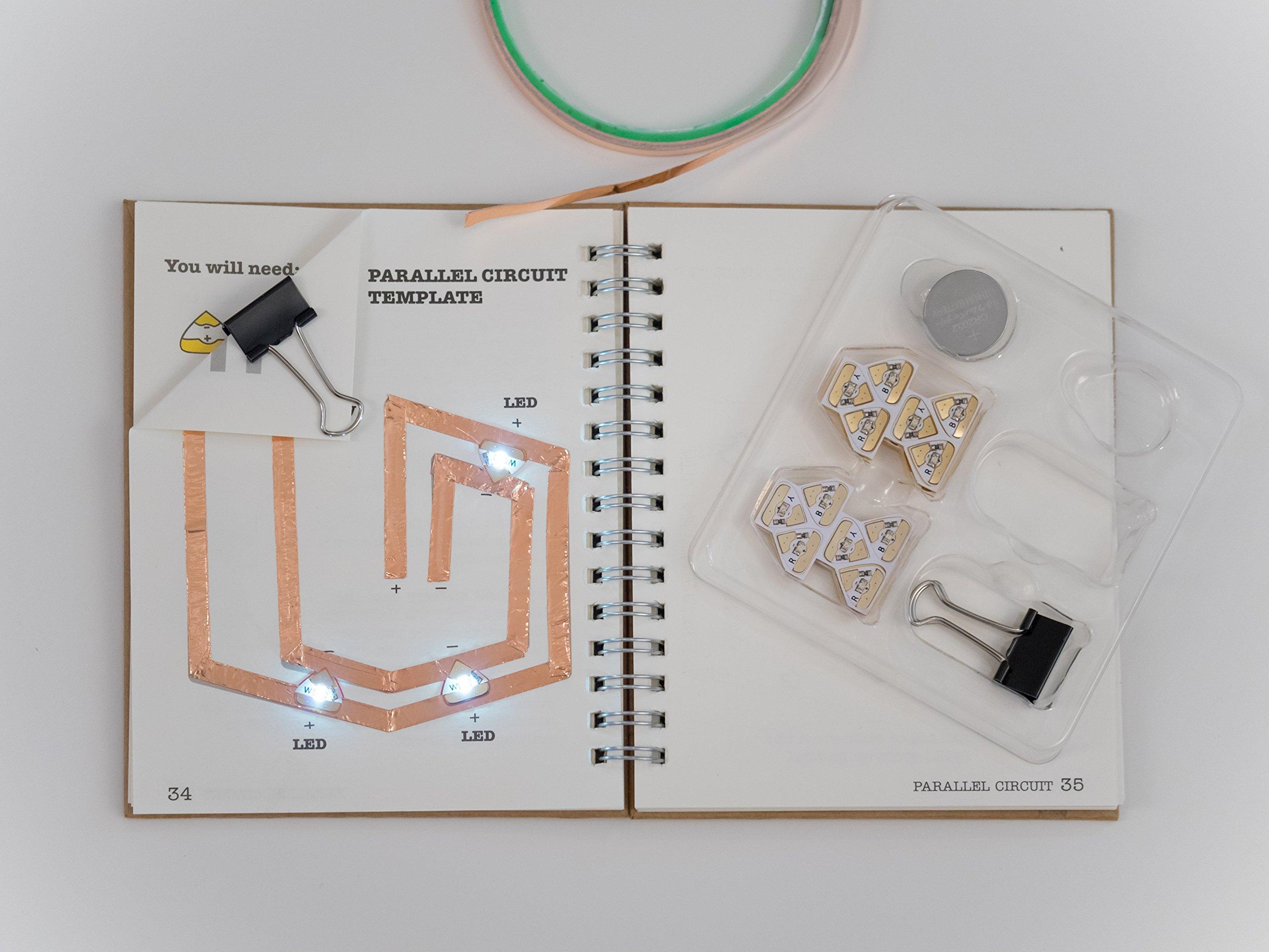 Chibitronics - Chibi Lights - LED Circuit Stickers STEM Starter Kit by Chibitronics (Image #2)