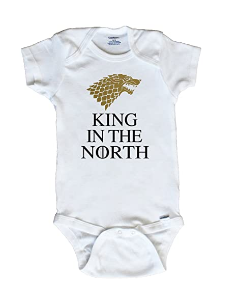 2024d8670 Amazon.com: King In The North Baby onesie: Clothing