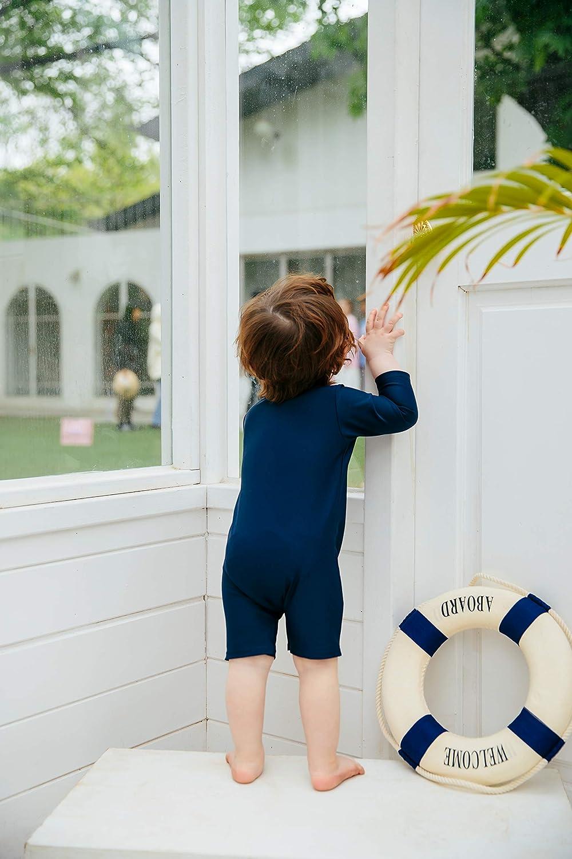 VAENAIT BABY 0-2T Infant Girls /& Boys UPF 50 Protection Swimsuit Onepiece Rashguard Sunsuit with Quick Change Snaps