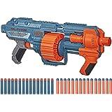 Nerf Elite 2.0 Shockwave RD-15 Blaster, 30 Nerf Darts, 15-Dart Rotating Drum, Pump-Action, Built-In Customizing…