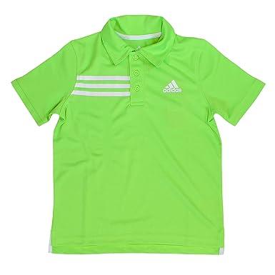 62aaf7a22 Amazon.com: adidas Short Sleeve Polo Shirt for Boys (Neon Green ...