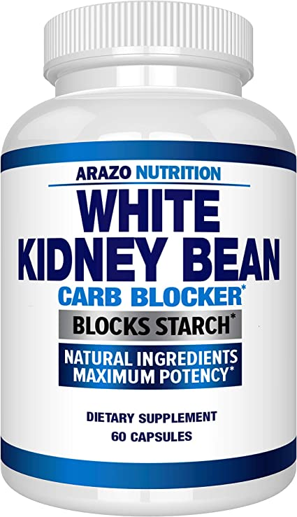 Amazon Com White Kidney Bean Extract 100 Pure Carb Blocker And Fat Absorber For Weight Loss Intercept Carbs Arazo Nutrition Health Personal Care