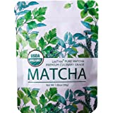 LosTree thé Matcha dans le thé vert Matcha qualité supérieure de culture biologique contrôlée qualité Ceremonial poudre de thé vert Matcha 100% organique (30g)