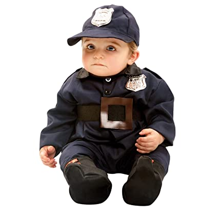 My Other Me Me-203291 Policãa Disfraz de policía bebé, 0-6 meses (Viving Costumes 203291