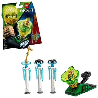 LEGO NINJAGO Spinjitzu Slam Lloyd 70681 Building Kit (70 Pieces): Toys & Games