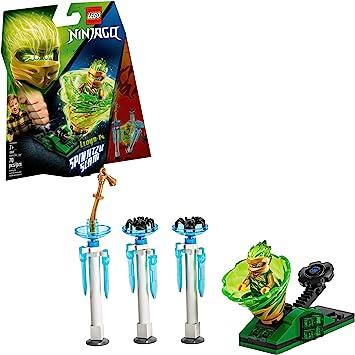 LEGO NINJAGO Spinjitzu Slam Lloyd 70681 Building Kit (70 Pieces)