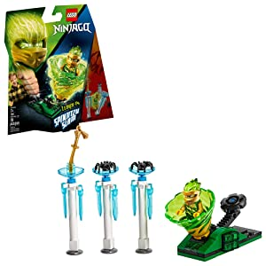 LEGO NINJAGO Spinjitzu Slam - Lloyd 70681 Building Kit, New 2019 (70 Pieces)