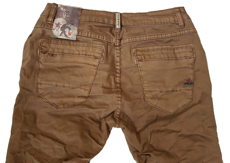 4cf061c33bea Buena Vista Damen Jeans Anna C Stretch Twill Brown Wash S  Amazon.de   Bekleidung