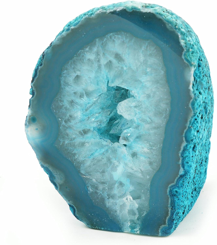 Ágata Geodo - de Color Verde Azulado