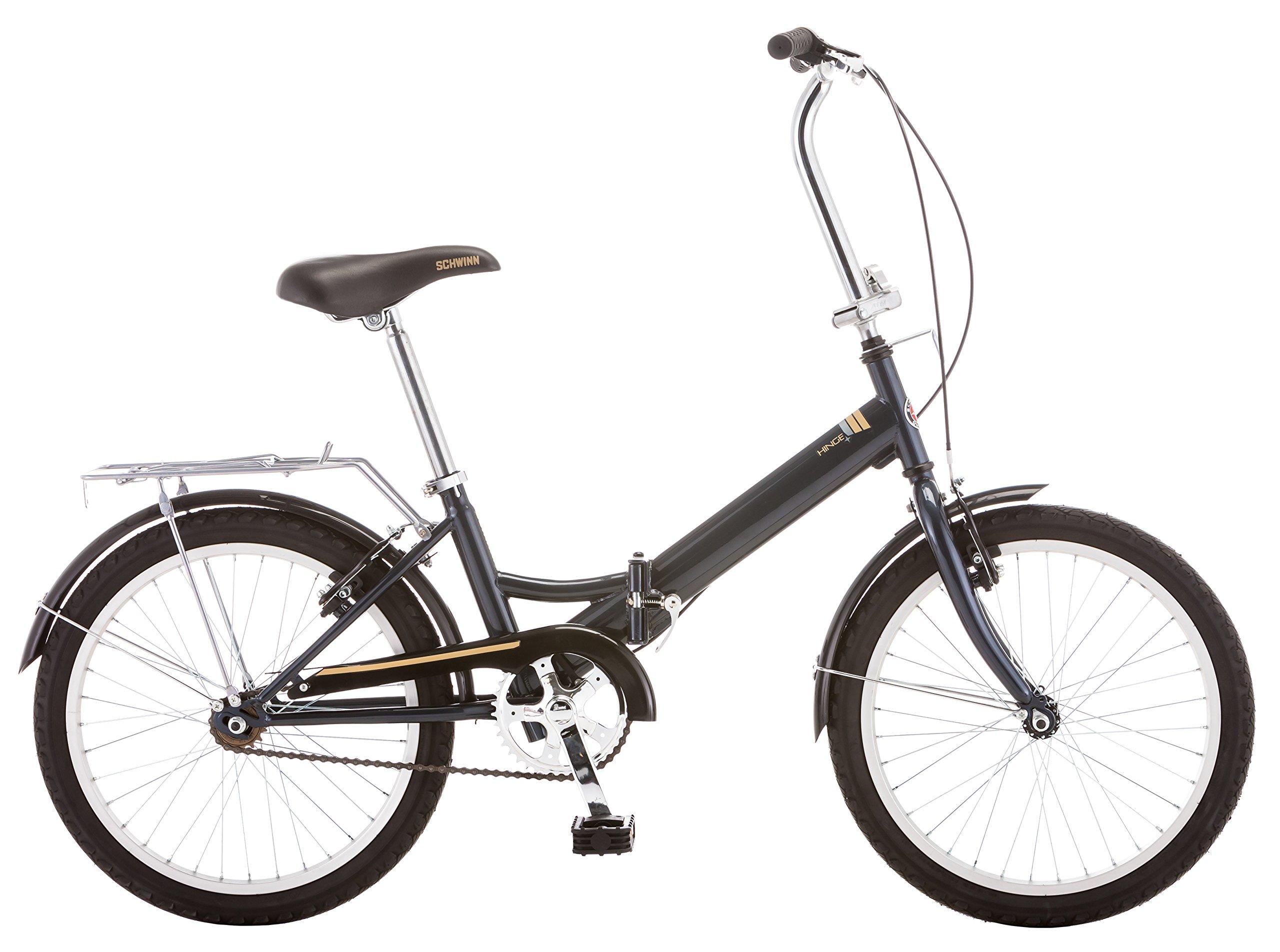 Schwinn 14 Hinge Folding Bike, 20-Inch/Medium, Grey by Schwinn (Image #2)