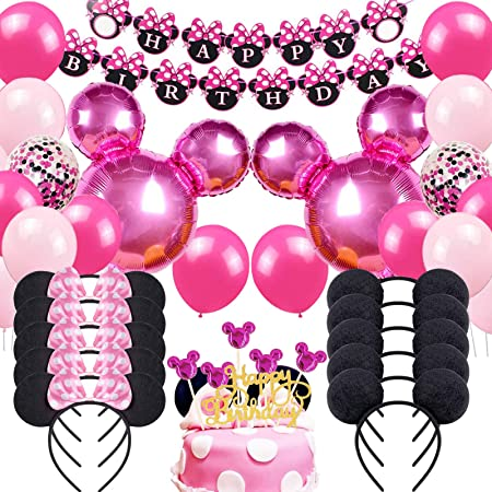 3rd BIRTHDAY PARTY BANNERS PINK /& BLUE PARTY DECORATIONS THIRD BIRTHDAY BANNERS