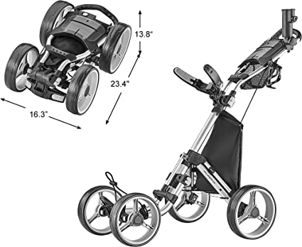 Best Golf Push Cart With Seat 1