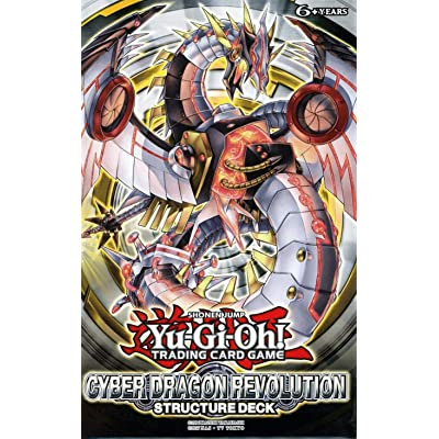 Yugioh TCG Trading Card Game Cyber Dragon Revolution Structure Deck - 42 cards: Toys & Games