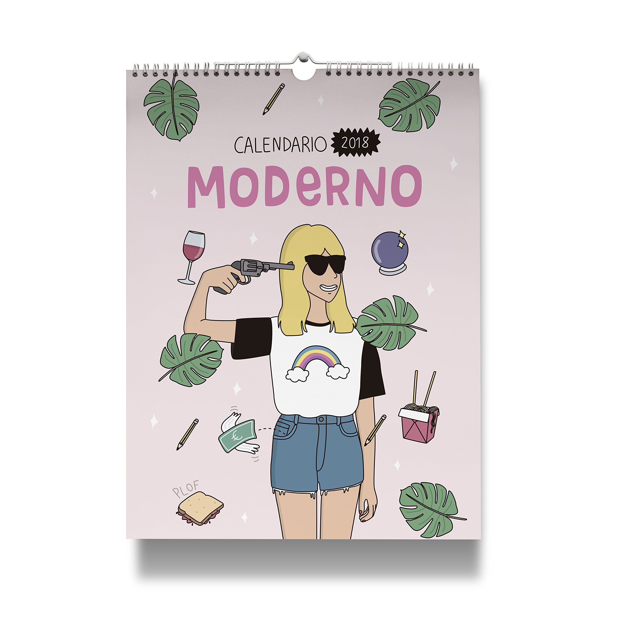 Moderna de Pueblo. Calendario pared 2018: Amazon.es: Vv.Aa ...
