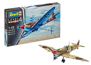Revell- Supermarine Spitfire MK.Vc, Kit de Modelo, Escala 1:48 (3940) (03940), 19,0cm (